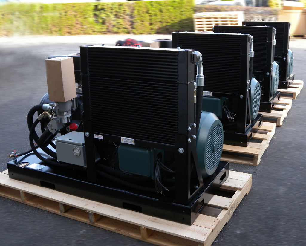 Air Compressors on skids - Compressed Air Systems | AIRPLUS Industrial