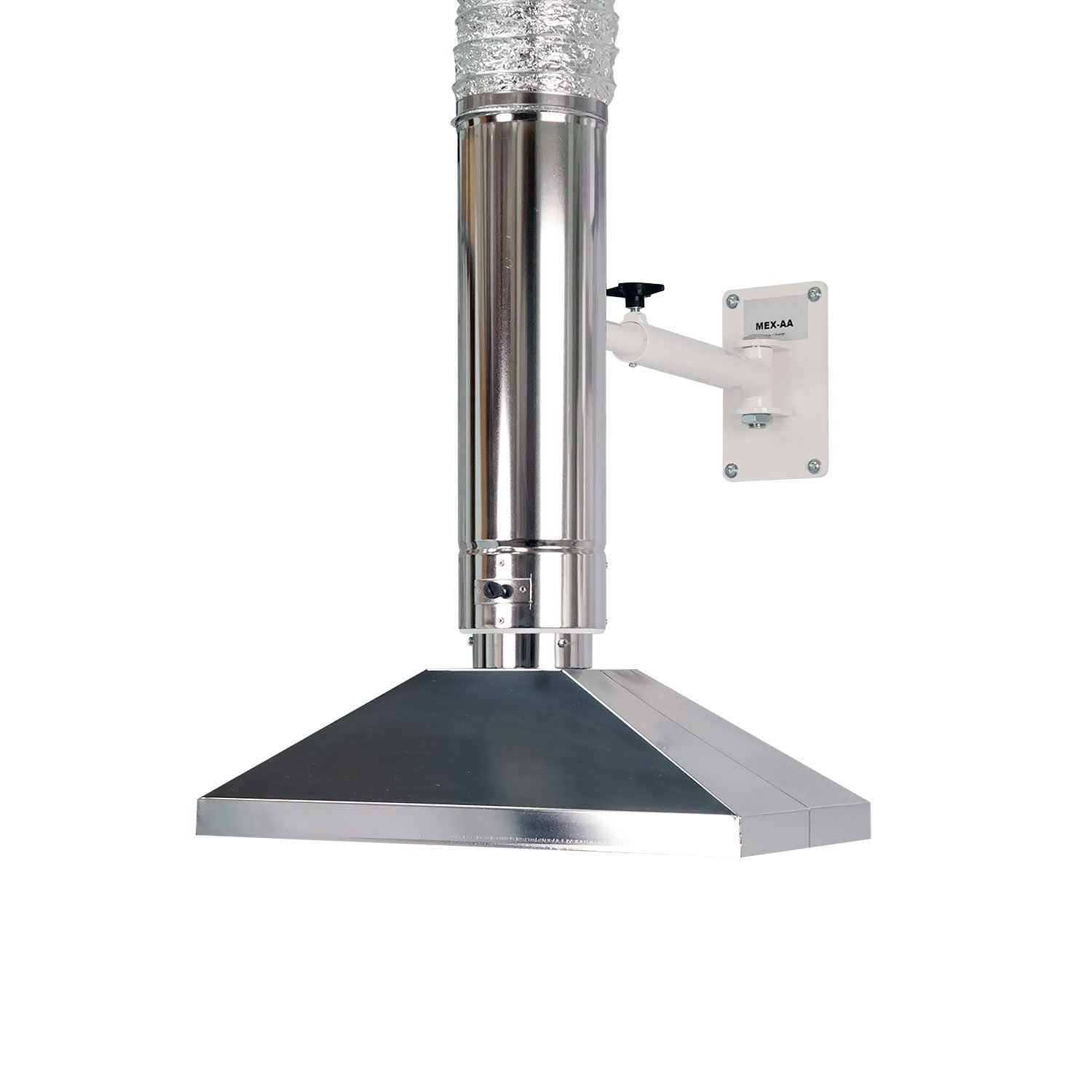 MEX AA Extraction Arm for Laboratory Environments | AIRPLUS Industrial
