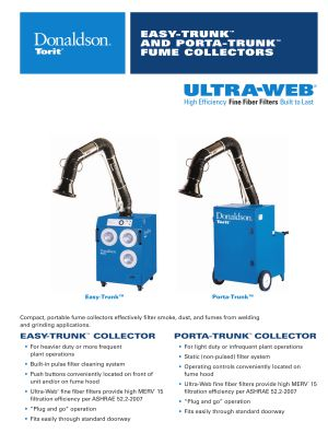 Easy Trunk & Porta Trunk Weld Fume Collector Brochure Download | AIRPLUS Industrial