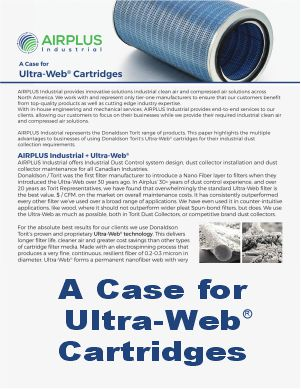 A case for Ultra-Web Cartridge Whitepaper download icon |AIRPLUS Industrials