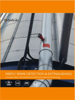 FireFly Spark Detection & Extinguishing Brochure Download Icon | AIRPLUS Industrial