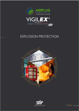 Vigilex Explosion Protection - Explosion Vent Panels | AIRPLUS Industrial