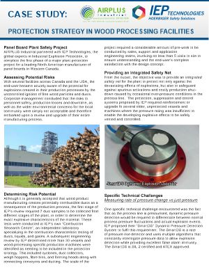 Protection strategy in wood products facilities download icon   AIRPLUS Industrial