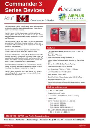 Axis AX Commander 3 Series Devices Brochure Download Icon | AIRPLUS Industrial