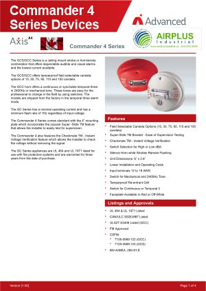 Axis AX Commander 4 Series Devices Brochure Download Icon | AIRPLUS Industrial