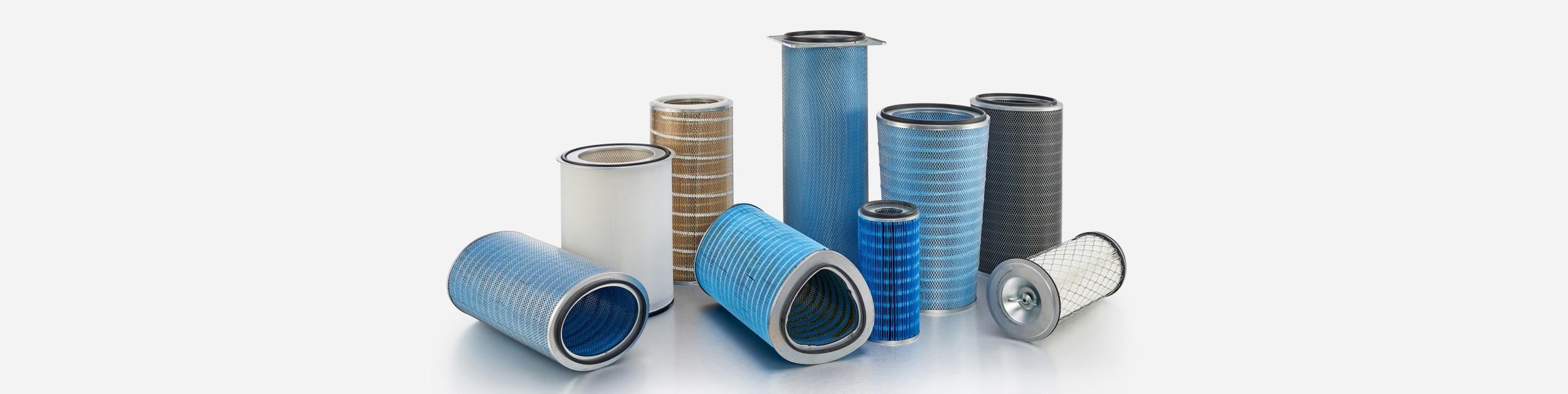 Donaldson cartridge filters - hero image   AIRPLUS Industrial