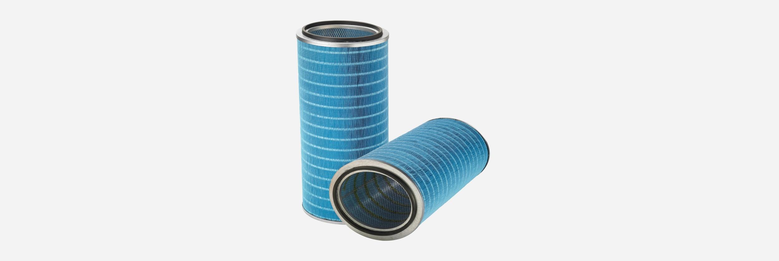 Donaldson Fibra Web Cartridge Filter Hero image | AIRPLUS Industrial