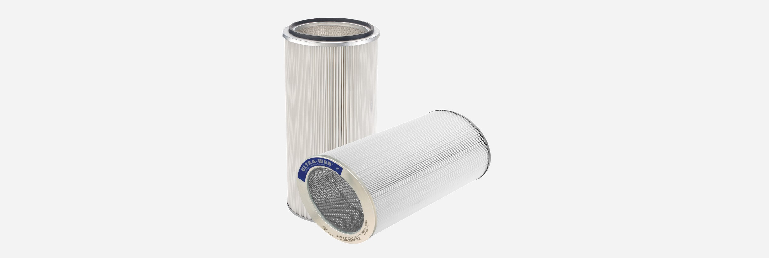 Donaldson Ultra-Web SB (spunbond) dust collector filters - hero image | AIRPLUS Industrial