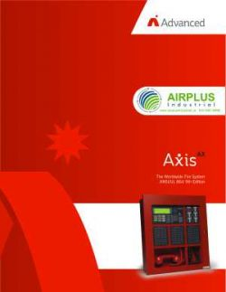 Axis Fire Panels & Alarm Systems Brochure Download Icon | AIRPLUS Industrial