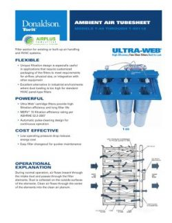 Donaldson Ambient Air Tubesheet brochure download icon   AIRPLUS Industrial