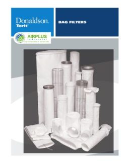 Donaldson Baghouse Filters brochure download icon | AIRPLUS Industrial