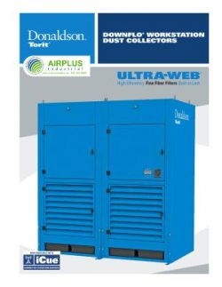 Donaldson Downflo Workstation brochure download icon   AIRPLUS Industrial