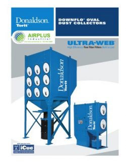 Donaldson Downflo Oval dust collector brochure download icon   AIRPLUS Industrial