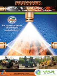 Fogmaker Systems for Canadian Forestry Industry download brochure icon | AIRPLUS Industrial