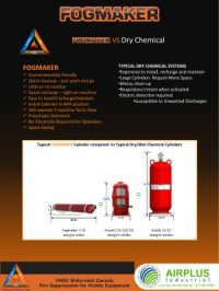 Fogmaker verses Dry-Chemical Systems download brochure icon | AIRPLUS Industrial