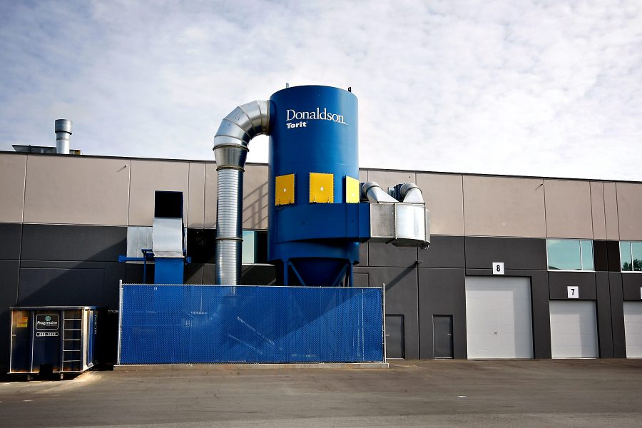 Dust collector installation | AIRPLUS Industrial
