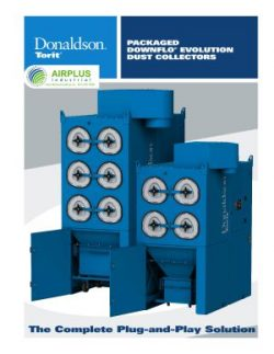 Donaldson Packaged Downflo Evolution dust collector   AIRPLUS Industrial