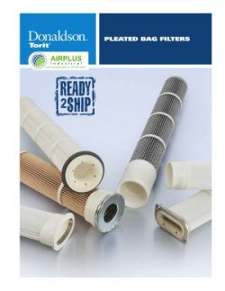 Donaldson Pleated Bag Filter brochure download icon | AIRPLUS Industrial