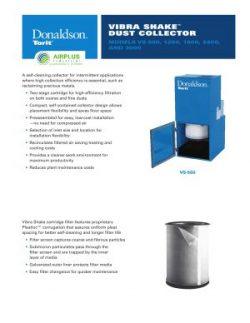 Donaldson Vibra-Shake Cartridge Filter brochure download icon   AIRPLUS Industrial